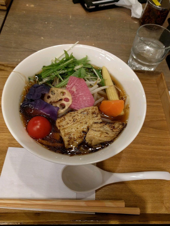 "Photo of T's Tantan - Ueno  by <a href=""/members/profile/alisahimsa"">alisahimsa</a> <br/>New Oriental vegan ramen  <br/> February 22, 2018  - <a href='/contact/abuse/image/106436/362228'>Report</a>"