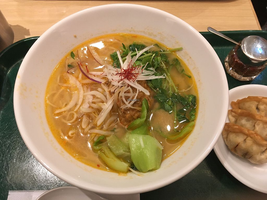 """Photo of T's Tantan - Ueno  by <a href=""""/members/profile/ShannonHegedus"""">ShannonHegedus</a> <br/>White sesame ramen <br/> March 22, 2018  - <a href='/contact/abuse/image/106436/374380'>Report</a>"""