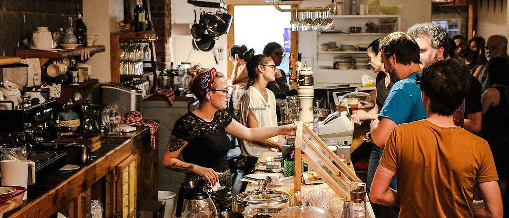"Photo of Rond-Point Cafe Autogere  by <a href=""/members/profile/MireilleB%C3%A9nard"">MireilleBénard</a> <br/>Café sympathique! <br/> December 2, 2017  - <a href='/contact/abuse/image/106442/331607'>Report</a>"