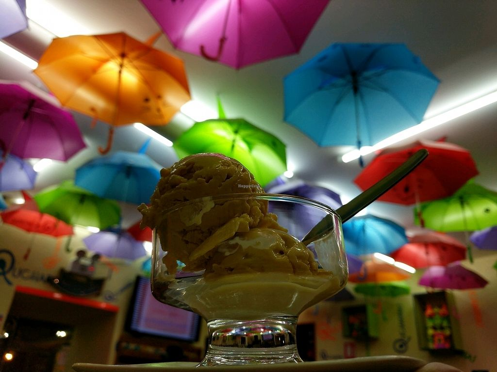"""Photo of Qucharitas  by <a href=""""/members/profile/Ccnum10"""">Ccnum10</a> <br/>Delicious vegan ice cream with passion fruit <br/> January 23, 2018  - <a href='/contact/abuse/image/106456/349957'>Report</a>"""