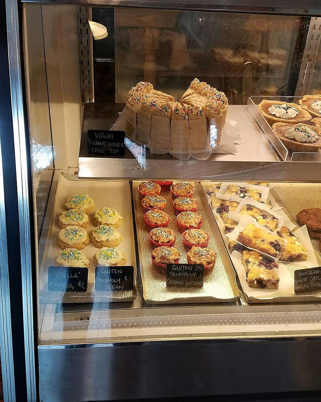 """Photo of Anastasia's Bakery  by <a href=""""/members/profile/Danushi"""">Danushi</a> <br/>The vegan selection at Anastasia's <br/> December 3, 2017  - <a href='/contact/abuse/image/106473/331888'>Report</a>"""