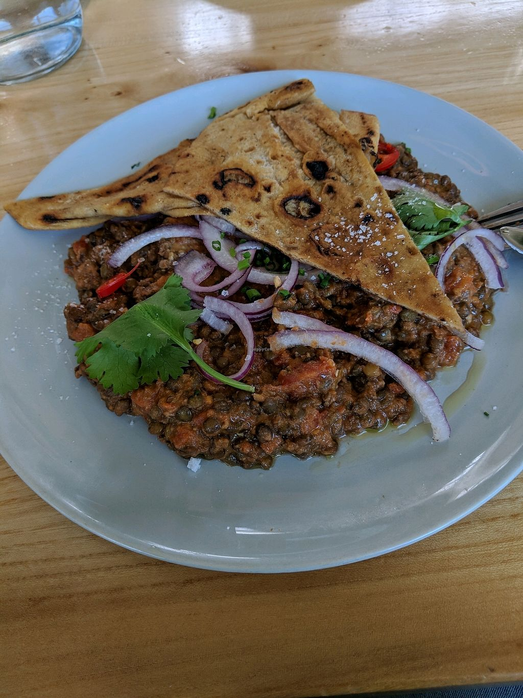 """Photo of Bestie Cafe  by <a href=""""/members/profile/Shiru"""">Shiru</a> <br/>lentil breakfast dish <br/> December 7, 2017  - <a href='/contact/abuse/image/106511/333168'>Report</a>"""