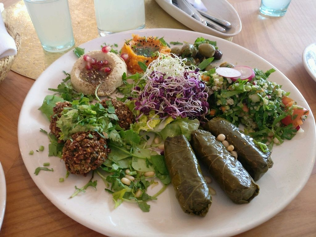"""Photo of Hammam Basar  by <a href=""""/members/profile/Meaks"""">Meaks</a> <br/>Vegan mezze <br/> March 25, 2018  - <a href='/contact/abuse/image/106528/375867'>Report</a>"""