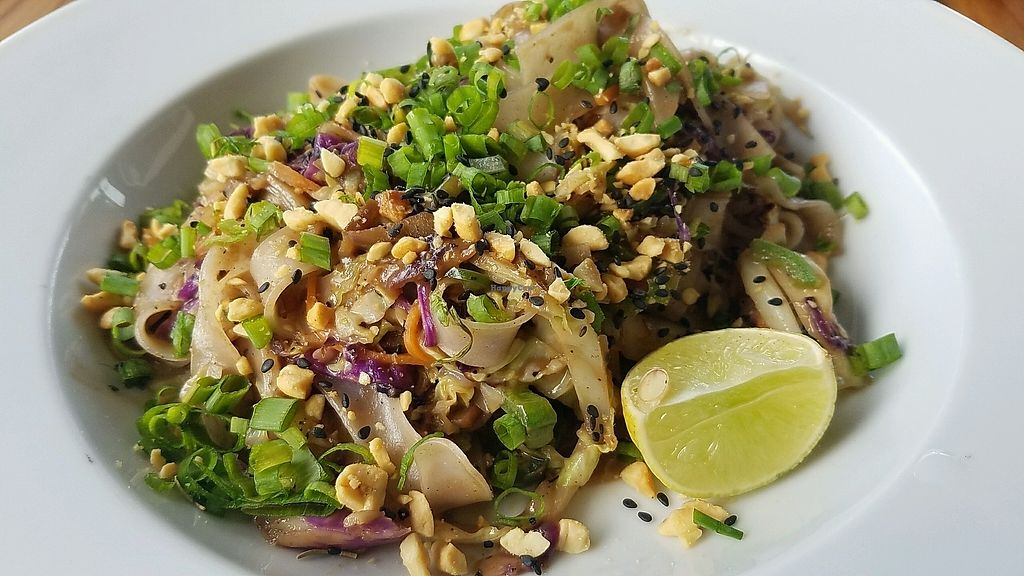 """Photo of Coleos Cafe  by <a href=""""/members/profile/eric"""">eric</a> <br/>vegan pad thai <br/> December 5, 2017  - <a href='/contact/abuse/image/106600/332365'>Report</a>"""