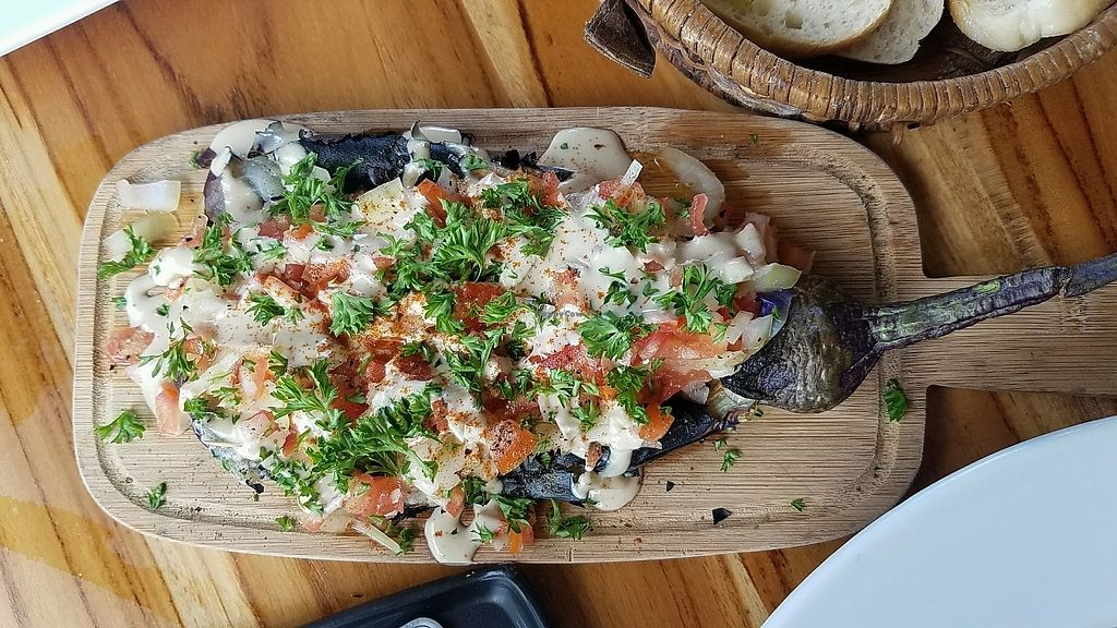 """Photo of Coleos Cafe  by <a href=""""/members/profile/eric"""">eric</a> <br/>fire eggplant <br/> December 5, 2017  - <a href='/contact/abuse/image/106600/332366'>Report</a>"""