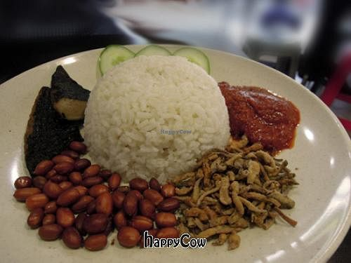 "Photo of Lily's Vegetarian Kitchen - Georgetown  by <a href=""/members/profile/Tertia"">Tertia</a> <br/>Nasi Lemak <br/> November 12, 2012  - <a href='/contact/abuse/image/10663/40164'>Report</a>"