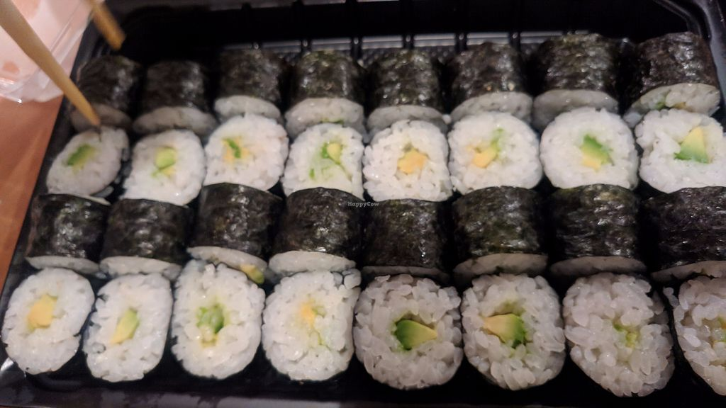 """Photo of EverGreen Sushi  by <a href=""""/members/profile/SaraMarkic"""">SaraMarkic</a> <br/>avocado maki <br/> December 5, 2017  - <a href='/contact/abuse/image/106680/332663'>Report</a>"""