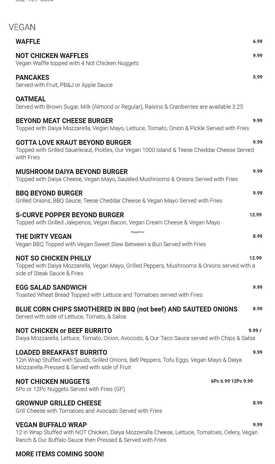 """Photo of Ocala's Downtown Diner  by <a href=""""/members/profile/NinaNSchweers"""">NinaNSchweers</a> <br/>Ocala  Downtown Diner NEW Vegan menu! <br/> January 4, 2018  - <a href='/contact/abuse/image/106684/342750'>Report</a>"""