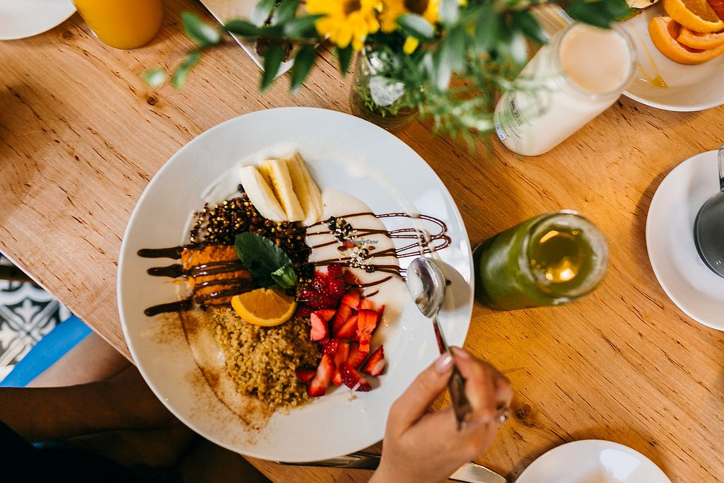 "Photo of Southern Sqweeze - Tomorrow Building  by <a href=""/members/profile/kelseyvasileff"">kelseyvasileff</a> <br/>This is the breakfast bowl. 