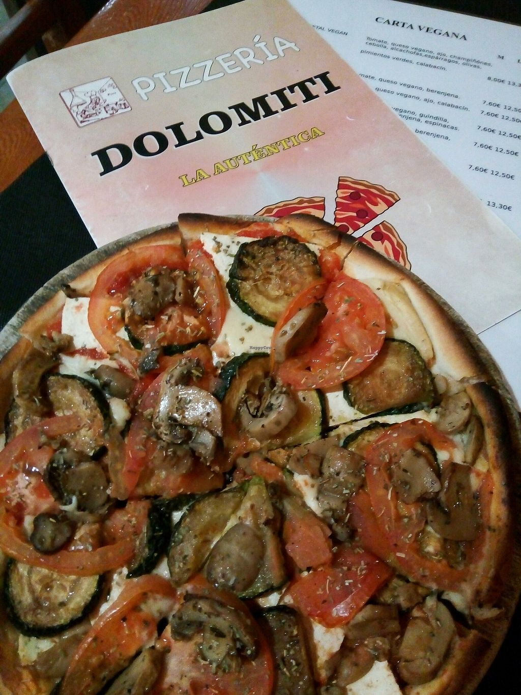 """Photo of Pizzeria Dolomiti  by <a href=""""/members/profile/Caracola"""">Caracola</a> <br/>di tofu <br/> March 7, 2018  - <a href='/contact/abuse/image/106718/367778'>Report</a>"""
