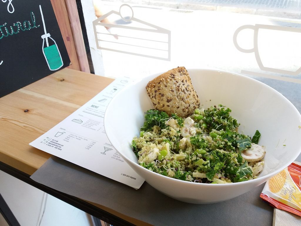 "Photo of Cocome  by <a href=""/members/profile/Cc3229"">Cc3229</a> <br/>Quinoa and kale salad <br/> December 20, 2017  - <a href='/contact/abuse/image/106739/337533'>Report</a>"