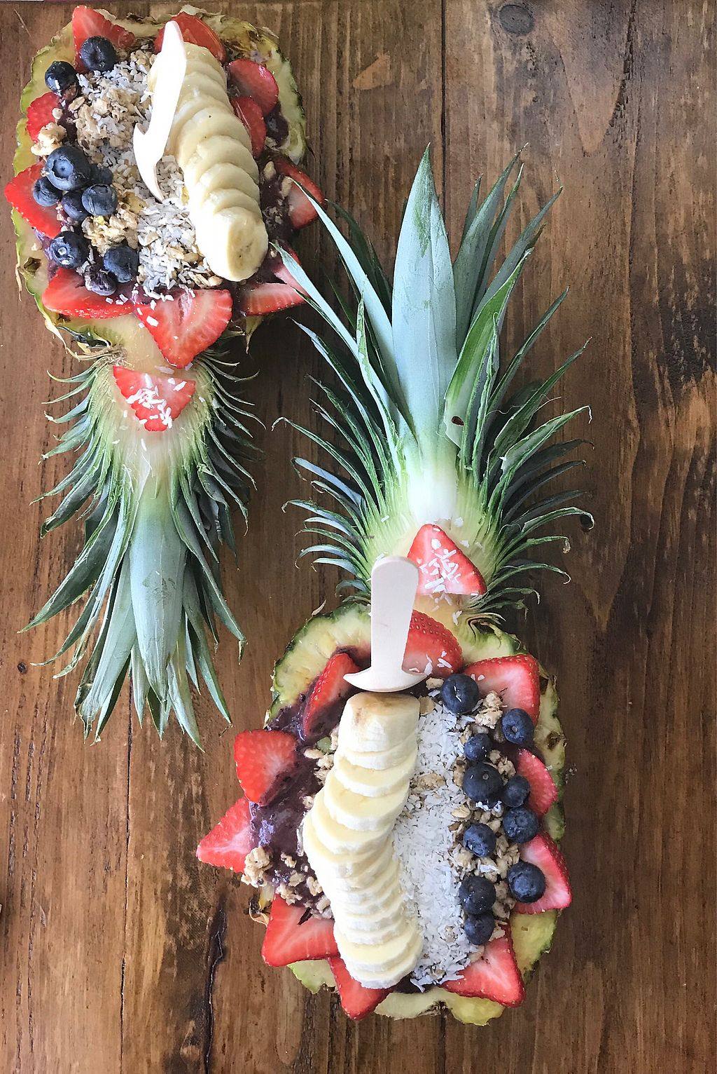 "Photo of Real Food Real People  by <a href=""/members/profile/kherrmann"">kherrmann</a> <br/>Acai bowl in a pineapple! <br/> February 7, 2018  - <a href='/contact/abuse/image/106764/355916'>Report</a>"
