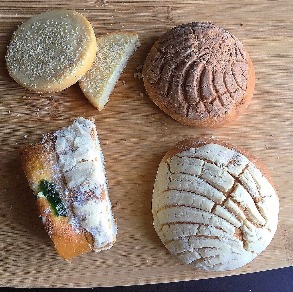 """Photo of Victoria's Bakery - Vegan by Victoria  by <a href=""""/members/profile/earvin_lopez"""">earvin_lopez</a> <br/>Conchas and other pan dulce  <br/> December 7, 2017  - <a href='/contact/abuse/image/106767/333237'>Report</a>"""