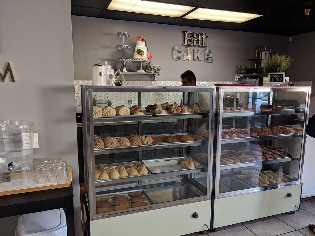 """Photo of Victoria's Bakery - Vegan by Victoria  by <a href=""""/members/profile/xmrfigx"""">xmrfigx</a> <br/>The vegan case <br/> March 21, 2018  - <a href='/contact/abuse/image/106767/373935'>Report</a>"""