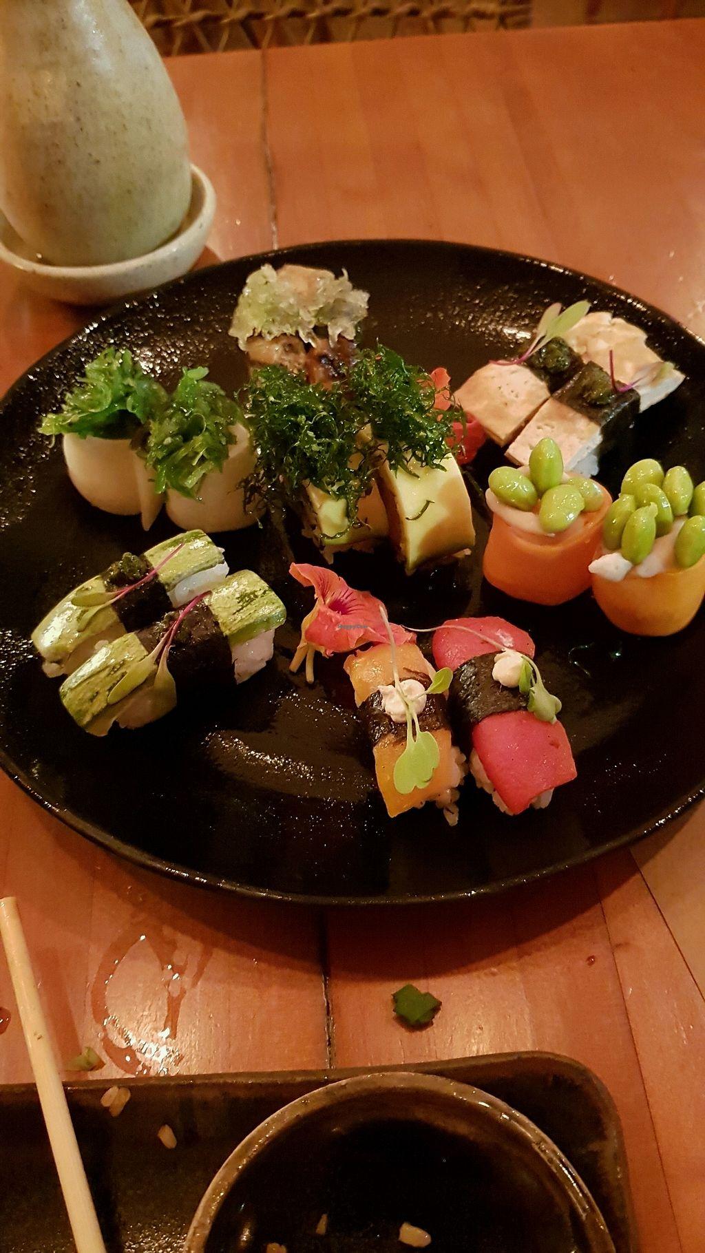 "Photo of Sushimar Vegano  by <a href=""/members/profile/tdelfim"">tdelfim</a> <br/>Prato de sushi no rodizio <br/> March 4, 2018  - <a href='/contact/abuse/image/106773/366603'>Report</a>"