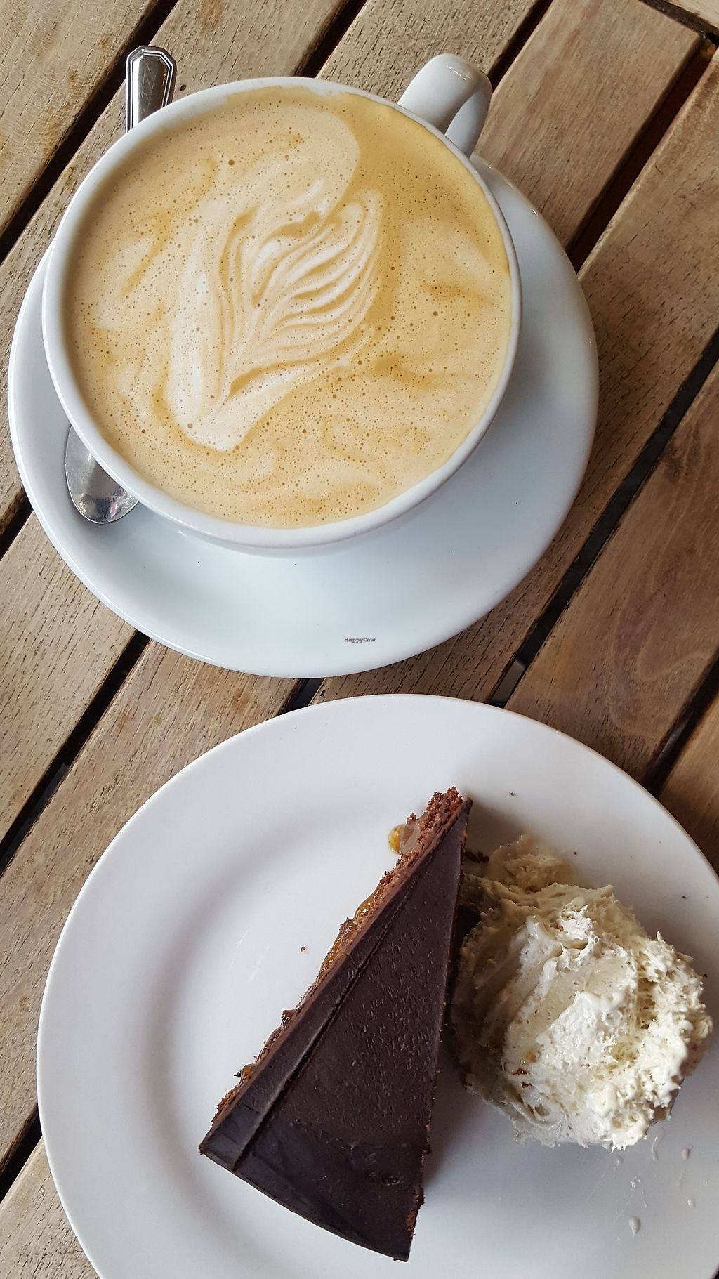 "Photo of Moreish Cafe Deli  by <a href=""/members/profile/VeganAnnaS"">VeganAnnaS</a> <br/>Vegan cake with homemade icecream <br/> December 23, 2017  - <a href='/contact/abuse/image/106829/338480'>Report</a>"