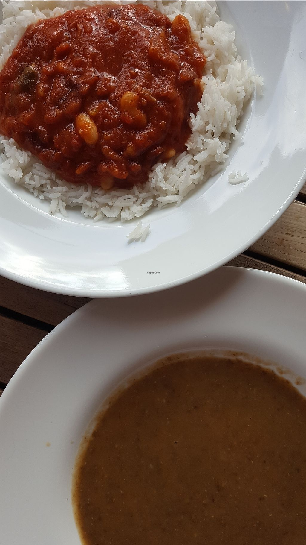 "Photo of Moreish Cafe Deli  by <a href=""/members/profile/VeganAnnaS"">VeganAnnaS</a> <br/>Vegan chilli and lentil soup <br/> December 23, 2017  - <a href='/contact/abuse/image/106829/338481'>Report</a>"