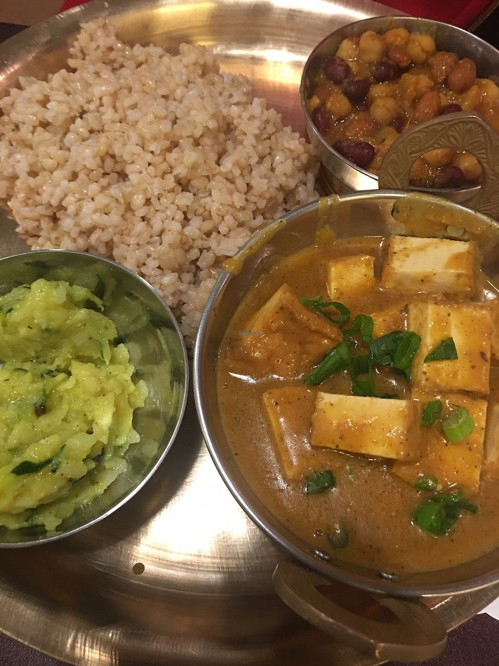 """Photo of Taste of Nepal  by <a href=""""/members/profile/americanwinter"""">americanwinter</a> <br/>Taste of Nepal - Tofu Saag <br/> April 17, 2018  - <a href='/contact/abuse/image/106840/387085'>Report</a>"""