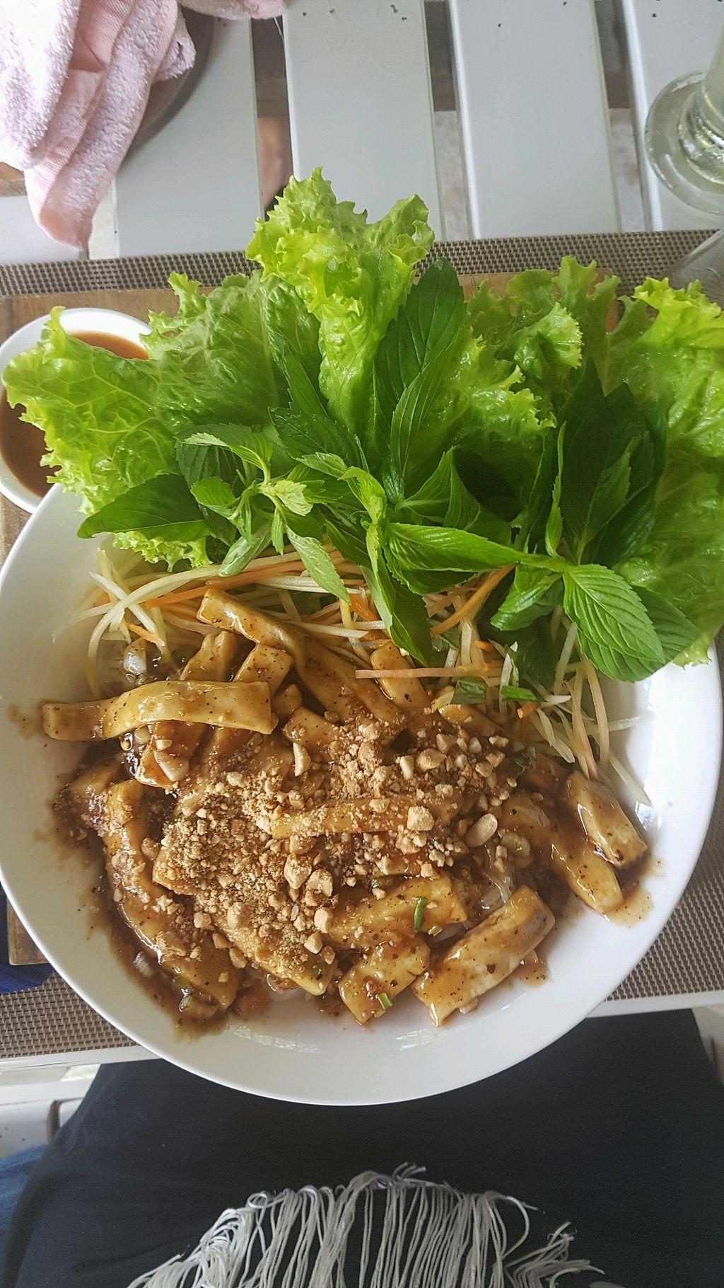 "Photo of Mai Jo Fusion  by <a href=""/members/profile/JeniferProchnow"">JeniferProchnow</a> <br/>Caramelized tofu with fresh ricenoodels <br/> March 4, 2018  - <a href='/contact/abuse/image/106890/366560'>Report</a>"