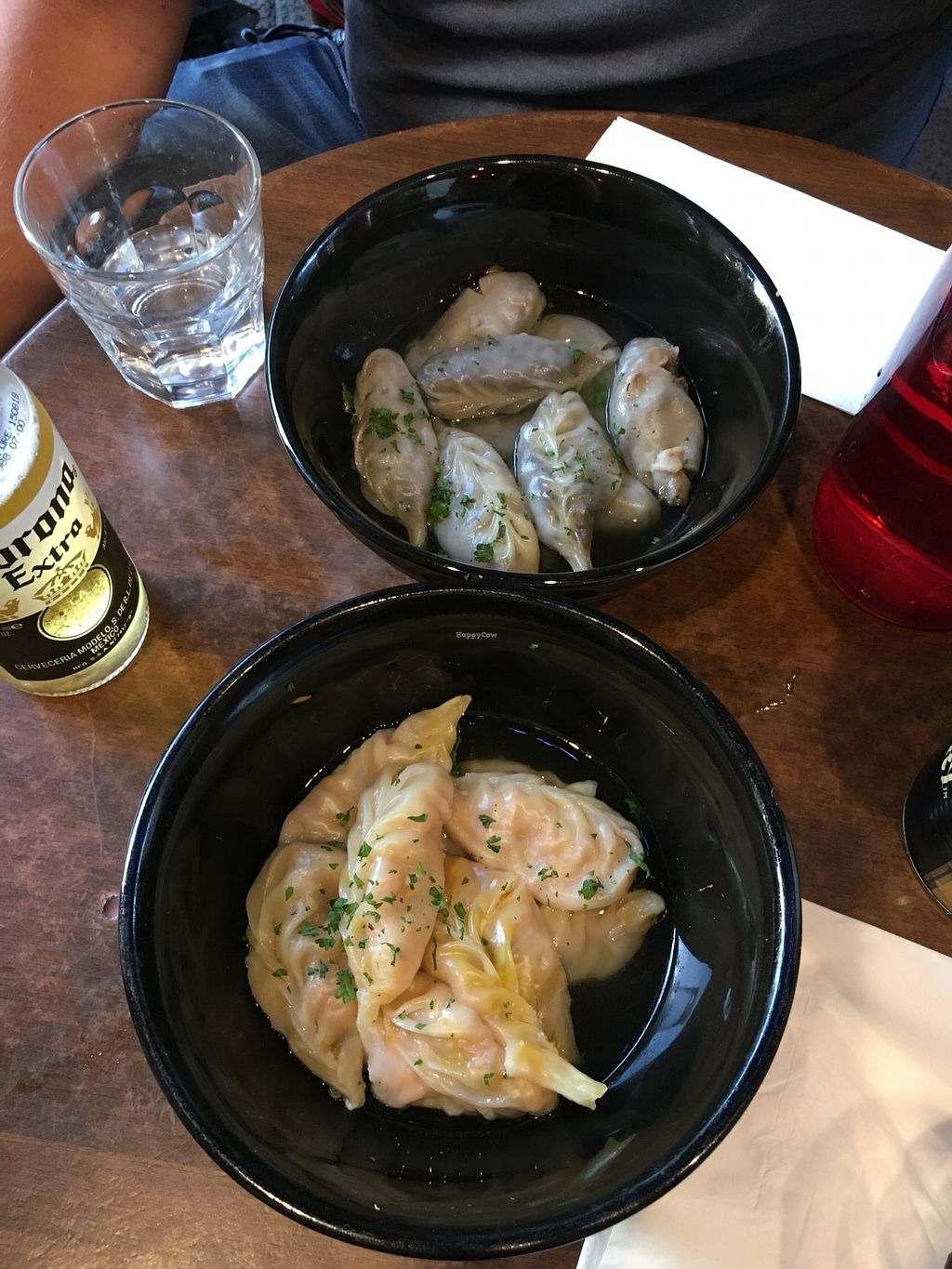 """Photo of Momo Bar  by <a href=""""/members/profile/SeitanSeitanSeitan"""">SeitanSeitanSeitan</a> <br/>Veggie and lentil momos.  <br/> December 9, 2017  - <a href='/contact/abuse/image/106894/334002'>Report</a>"""