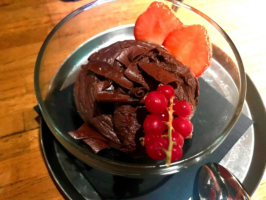 """Photo of Cafe Beguin  by <a href=""""/members/profile/marky_mark"""">marky_mark</a> <br/>excellent pudding (vegan, no chia) <br/> December 10, 2017  - <a href='/contact/abuse/image/106920/334218'>Report</a>"""