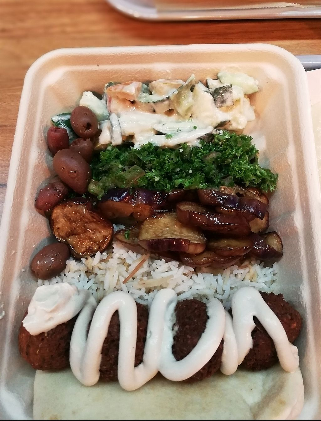 """Photo of Falafill  by <a href=""""/members/profile/dpardog"""">dpardog</a> <br/>falafel platter  <br/> December 10, 2017  - <a href='/contact/abuse/image/106965/334211'>Report</a>"""