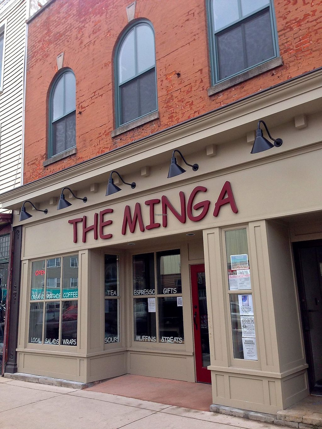 """Photo of The Minga Cafe  by <a href=""""/members/profile/Minga"""">Minga</a> <br/>Our cafe storefront <br/> December 10, 2017  - <a href='/contact/abuse/image/106967/334382'>Report</a>"""