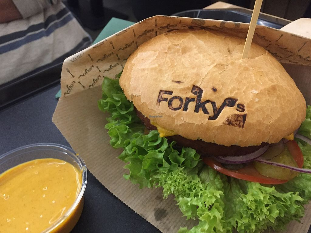 """Photo of Forky's Trnava  by <a href=""""/members/profile/MishellTothov%C3%A1"""">MishellTothová</a> <br/>Forky's Cheeseburger <br/> February 25, 2018  - <a href='/contact/abuse/image/106979/363639'>Report</a>"""