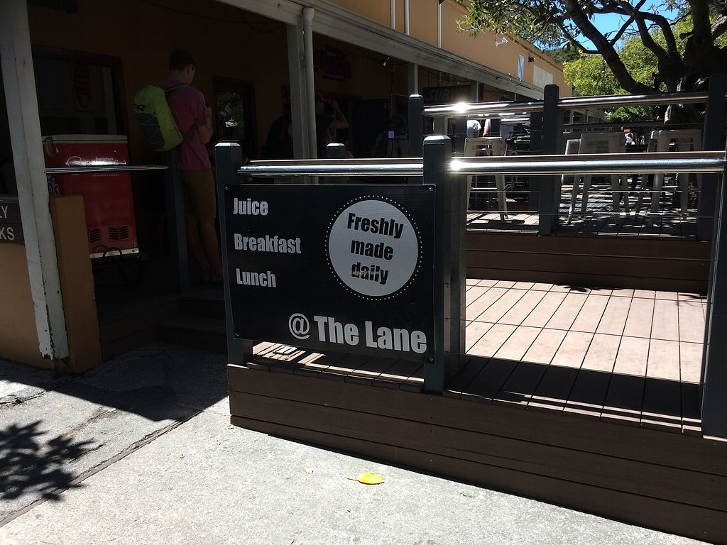 """Photo of The Lane  by <a href=""""/members/profile/alia_801"""">alia_801</a> <br/>The Lane - at the end of the row of shops, next to the ice-cream shop (that also stocks a couple of vegan flavours) <br/> December 16, 2017  - <a href='/contact/abuse/image/106983/336014'>Report</a>"""