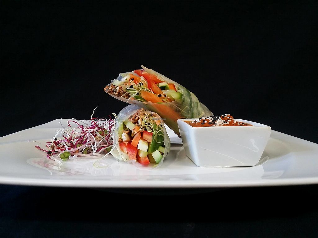 """Photo of Villa Ritter Vital Hotel  by <a href=""""/members/profile/RawChefVillaRitter"""">RawChefVillaRitter</a> <br/>Raw vegan spring rolls <br/> December 26, 2017  - <a href='/contact/abuse/image/106984/339239'>Report</a>"""