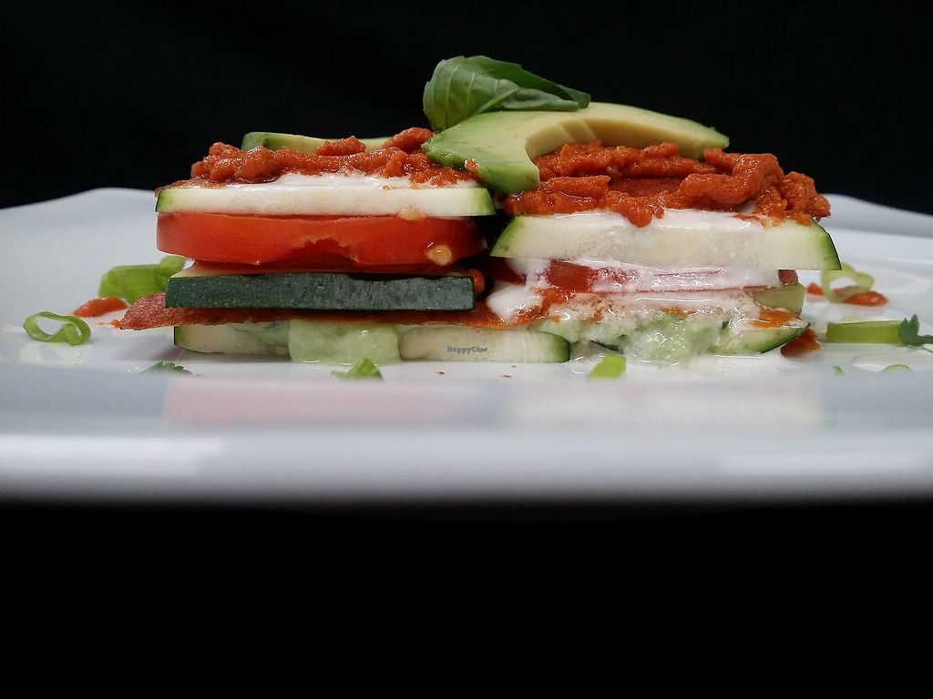 """Photo of Villa Ritter Vital Hotel  by <a href=""""/members/profile/RawChefVillaRitter"""">RawChefVillaRitter</a> <br/>Raw vegan lasagne <br/> December 26, 2017  - <a href='/contact/abuse/image/106984/339240'>Report</a>"""