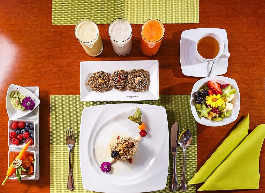 """Photo of Villa Ritter Vital Hotel  by <a href=""""/members/profile/RawChefVillaRitter"""">RawChefVillaRitter</a> <br/>Various offer for breakfast <br/> December 26, 2017  - <a href='/contact/abuse/image/106984/339247'>Report</a>"""
