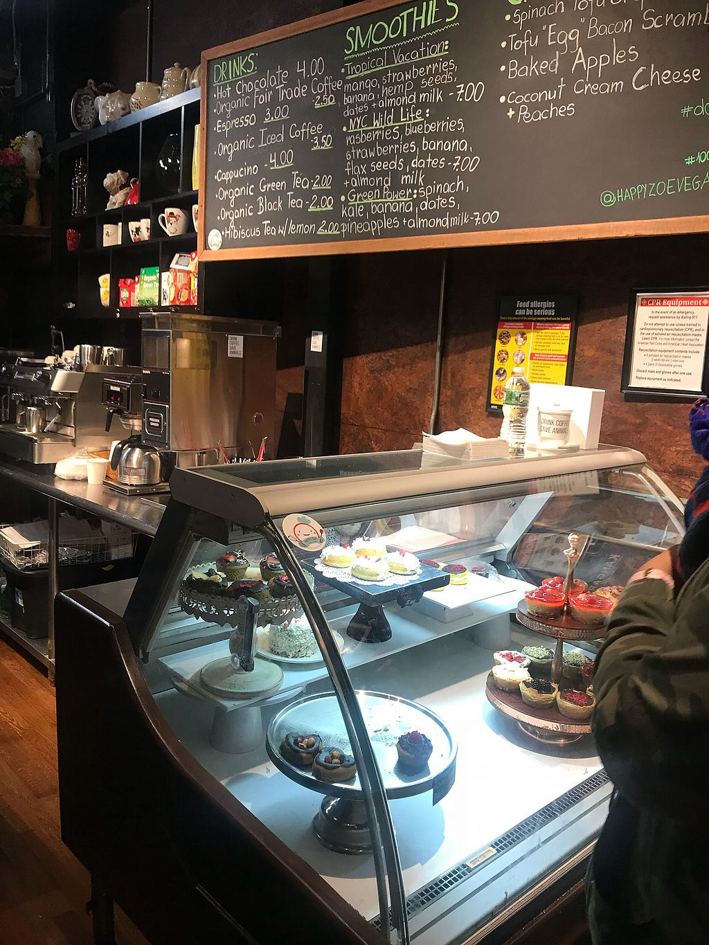 "Photo of Happy Zoe Vegan Bakery  by <a href=""/members/profile/Zelue"">Zelue</a> <br/>?? <br/> January 27, 2018  - <a href='/contact/abuse/image/107022/351667'>Report</a>"