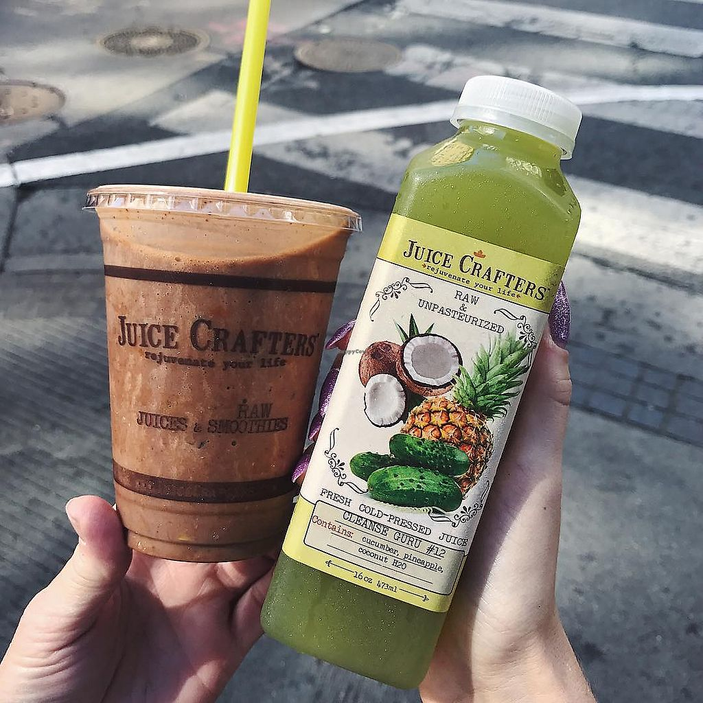 """Photo of Juice Crafters  by <a href=""""/members/profile/JuiceCrafters"""">JuiceCrafters</a> <br/>CRUNCHY MONKEY SMOOTHIE – Cacao nibs, cacao powder, goji berries, walnuts, almond milk, cinnamon, vanilla, banana & dates <br/> January 9, 2018  - <a href='/contact/abuse/image/107030/344752'>Report</a>"""