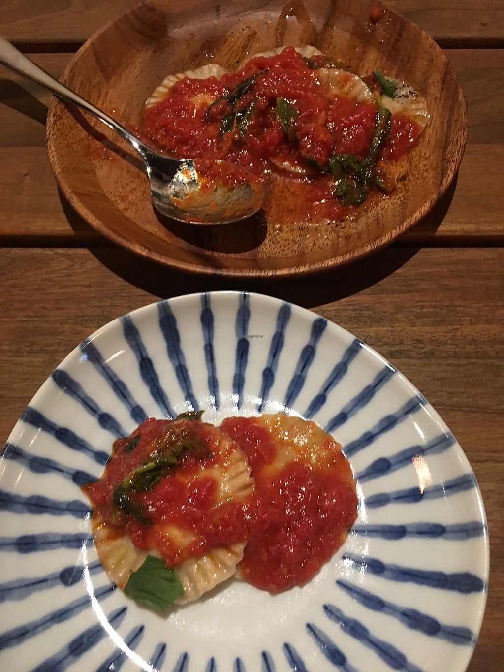 """Photo of Pettirosso  by <a href=""""/members/profile/FintanMcGivern"""">FintanMcGivern</a> <br/>Vegan Ravioli  <br/> April 5, 2018  - <a href='/contact/abuse/image/107031/380877'>Report</a>"""