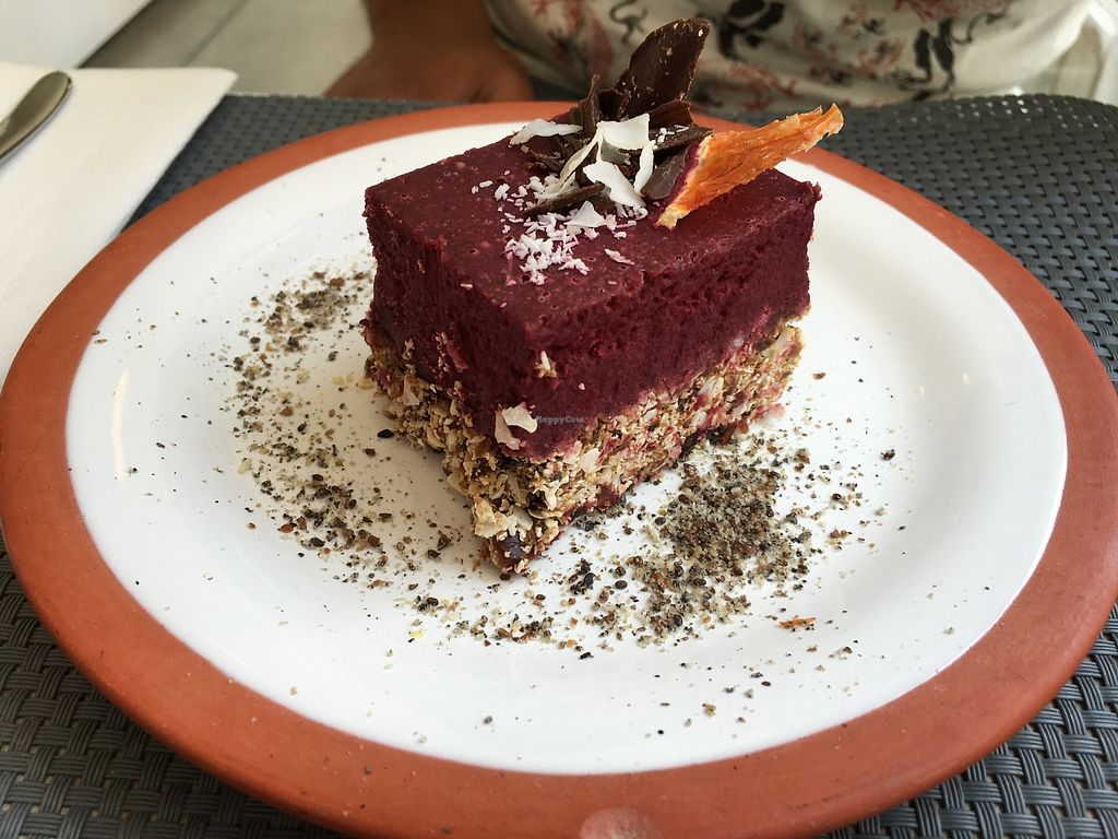 """Photo of Polen Restaurant  by <a href=""""/members/profile/peas-full"""">peas-full</a> <br/>vegan raw cheesecake  <br/> December 12, 2017  - <a href='/contact/abuse/image/107055/334918'>Report</a>"""