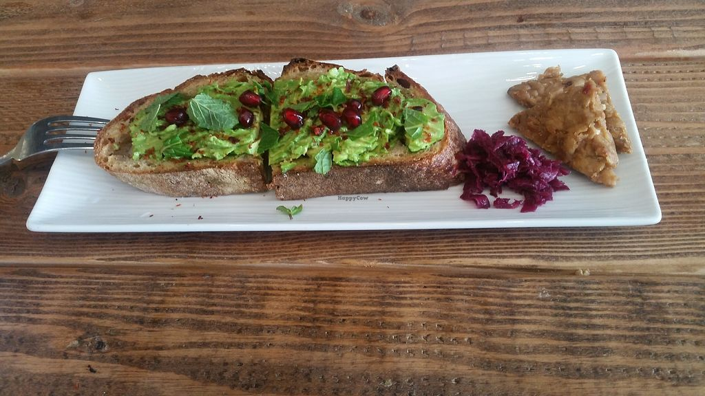 "Photo of Cafe Umami  by <a href=""/members/profile/asheton"">asheton</a> <br/>Avocado toast <br/> January 13, 2018  - <a href='/contact/abuse/image/107062/346216'>Report</a>"