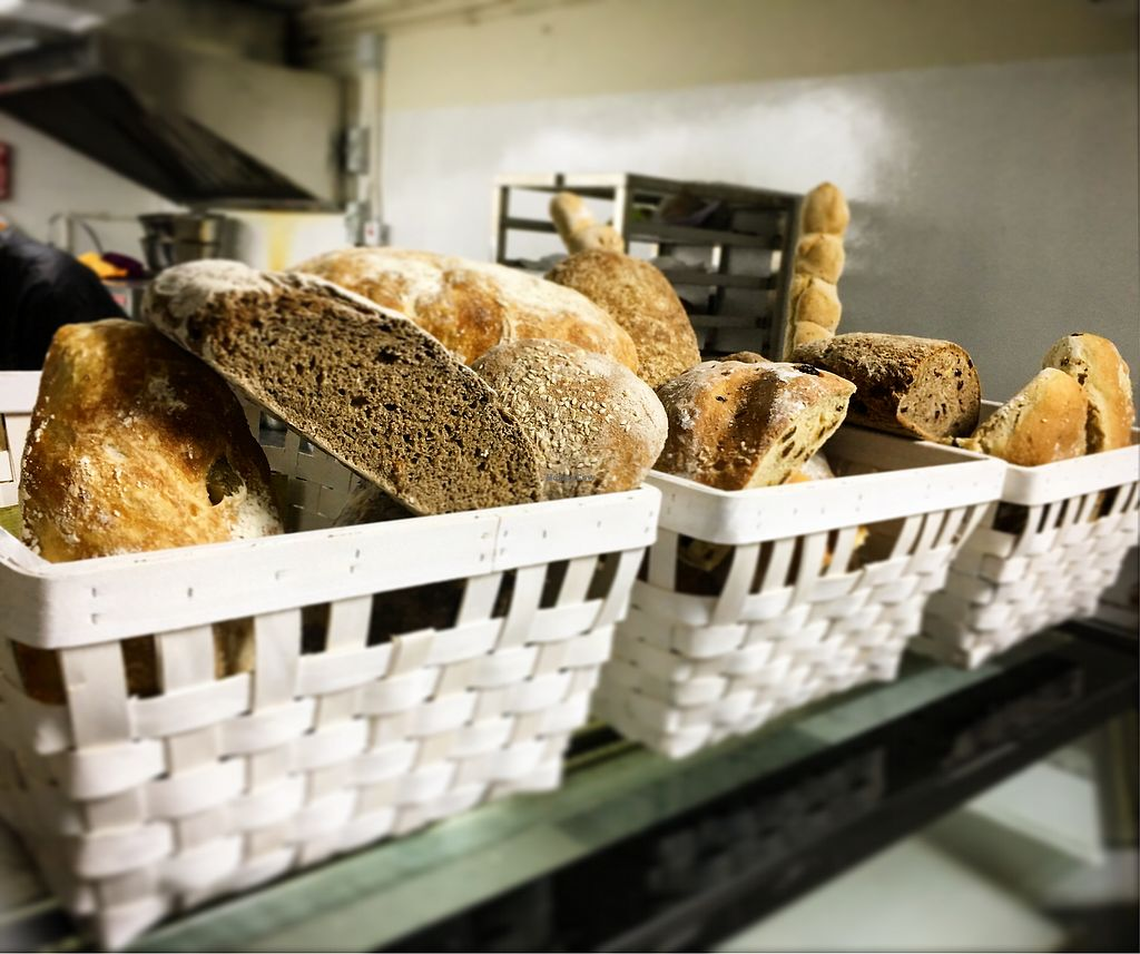 "Photo of Mayse Artisan Bakery  by <a href=""/members/profile/Elinavegan"">Elinavegan</a> <br/>Fresh sourdough bread <br/> January 4, 2018  - <a href='/contact/abuse/image/107090/342922'>Report</a>"