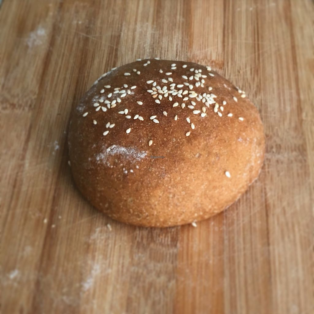 "Photo of Mayse Artisan Bakery  by <a href=""/members/profile/Elinavegan"">Elinavegan</a> <br/>Wholemeal bun <br/> January 4, 2018  - <a href='/contact/abuse/image/107090/342927'>Report</a>"