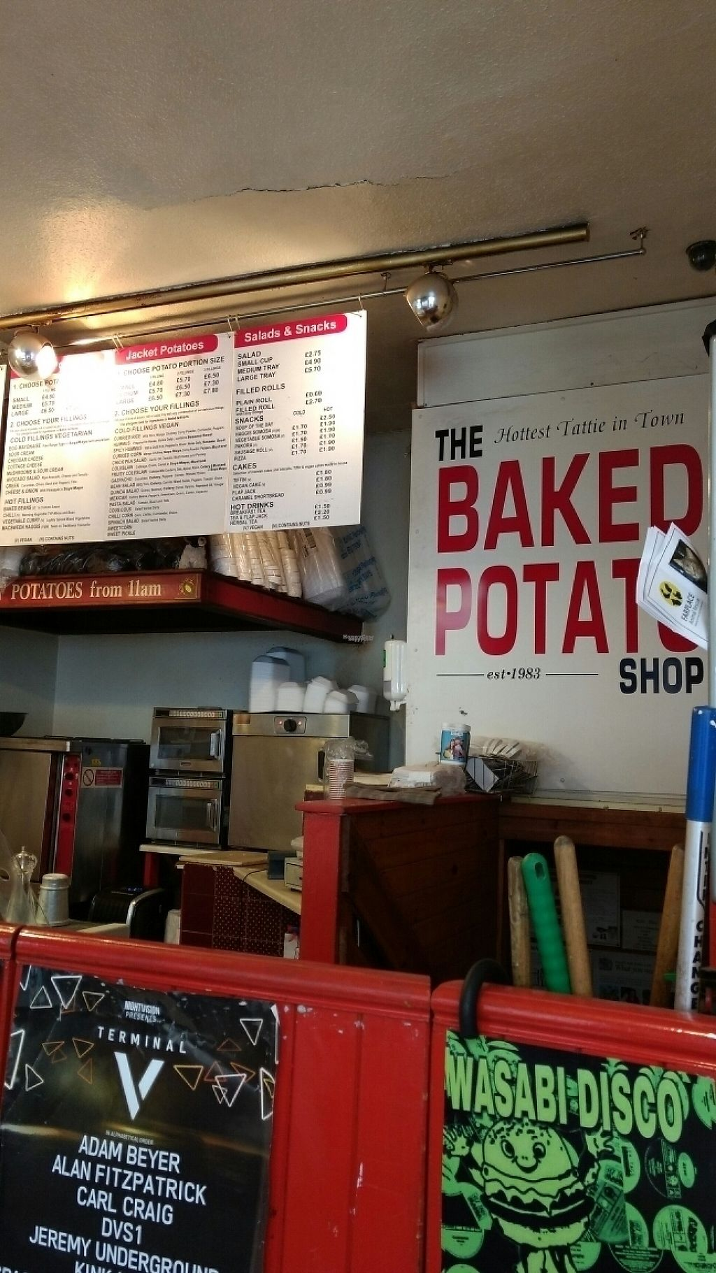 "Photo of The Baked Potato Shop  by <a href=""/members/profile/craigmc"">craigmc</a> <br/>and it is <br/> March 17, 2017  - <a href='/contact/abuse/image/1070/237583'>Report</a>"