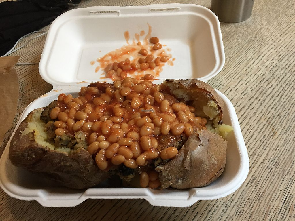 "Photo of The Baked Potato Shop  by <a href=""/members/profile/blackoutrishi"">blackoutrishi</a> <br/>Haggis beans  <br/> November 23, 2017  - <a href='/contact/abuse/image/1070/328527'>Report</a>"