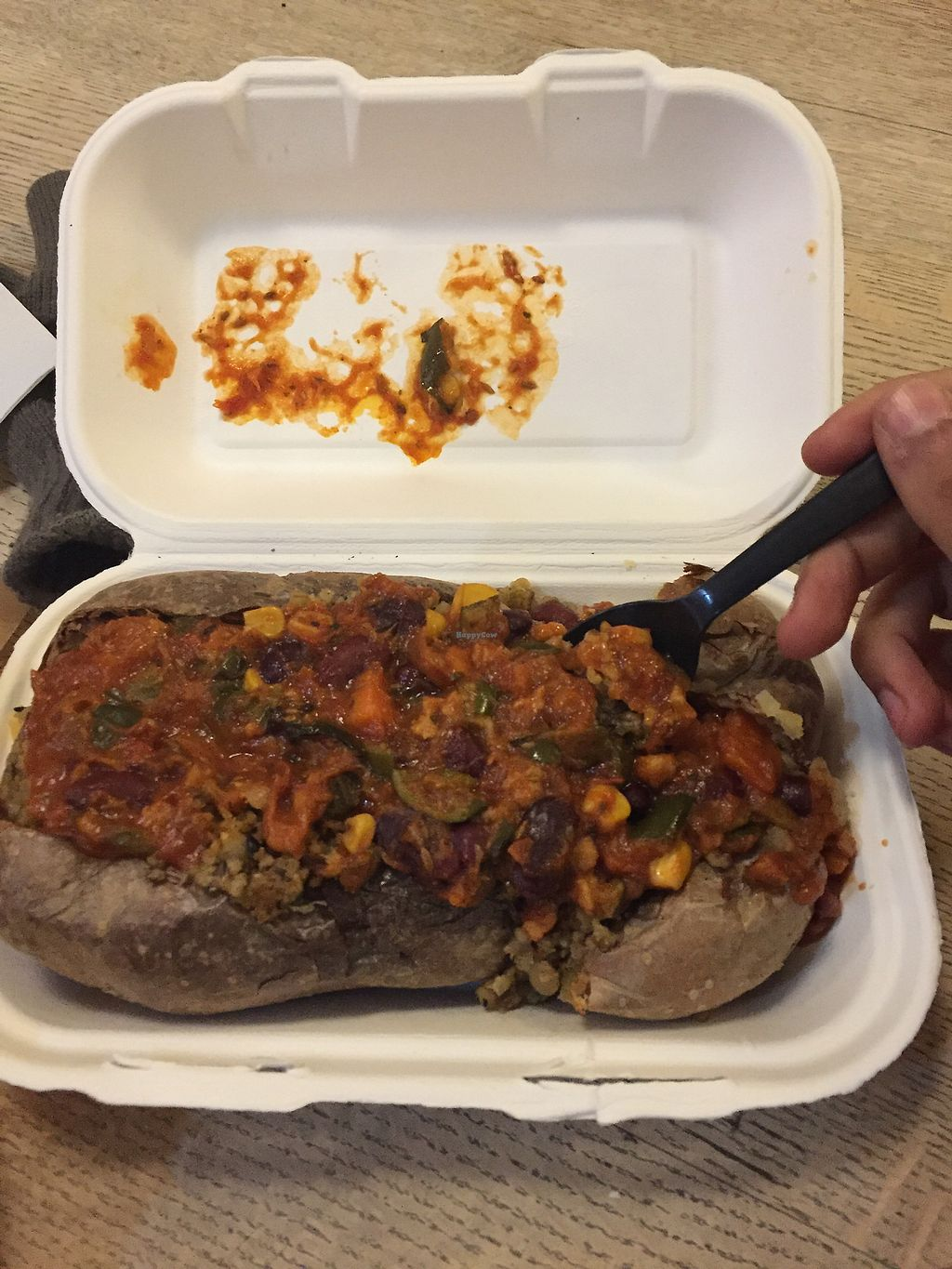 "Photo of The Baked Potato Shop  by <a href=""/members/profile/blackoutrishi"">blackoutrishi</a> <br/>Chilli haggis  <br/> November 23, 2017  - <a href='/contact/abuse/image/1070/328528'>Report</a>"