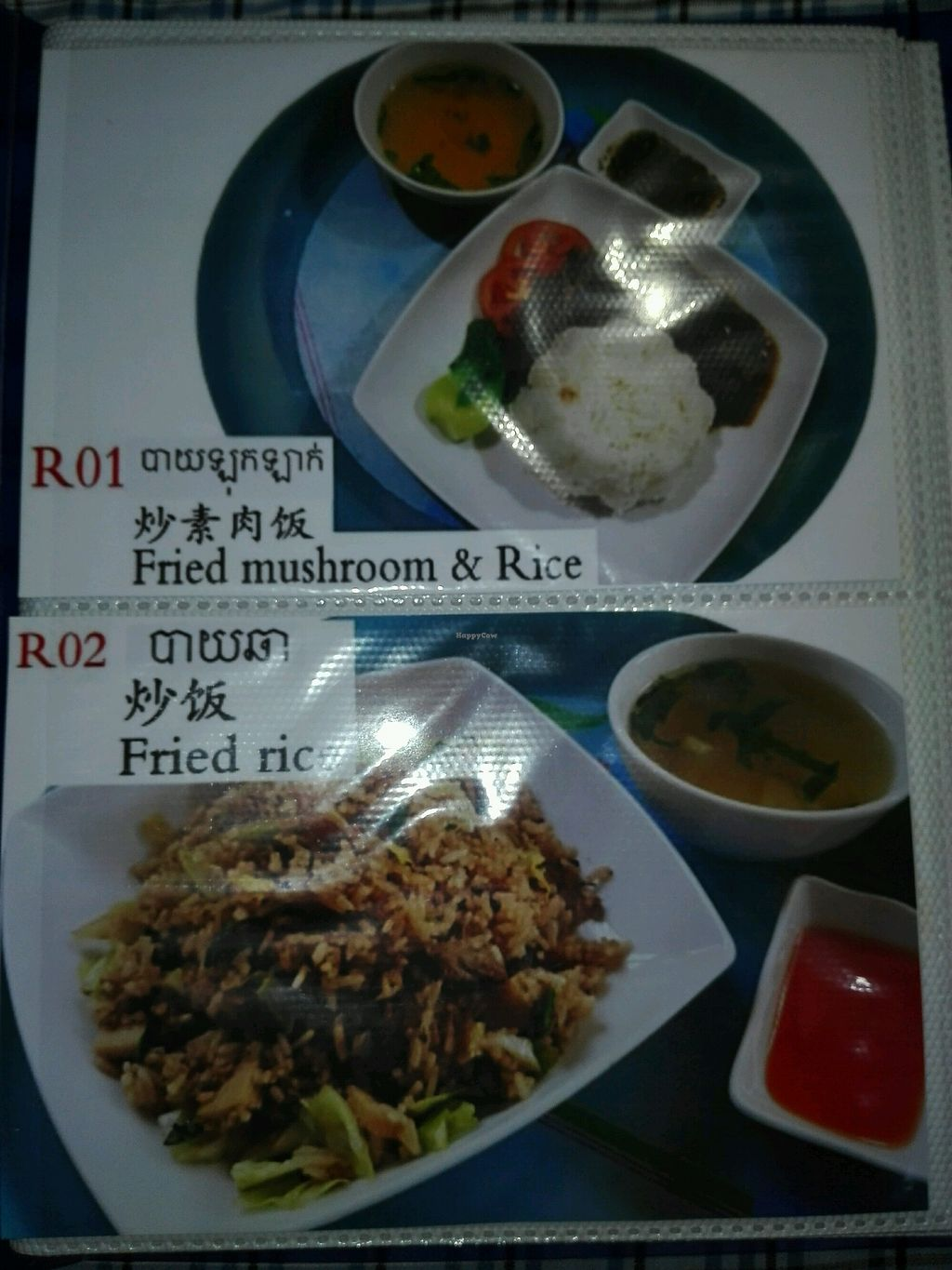 """Photo of Mercy Vegetarian  by <a href=""""/members/profile/Seksan"""">Seksan</a> <br/>Rice Menu <br/> March 16, 2018  - <a href='/contact/abuse/image/107110/371353'>Report</a>"""