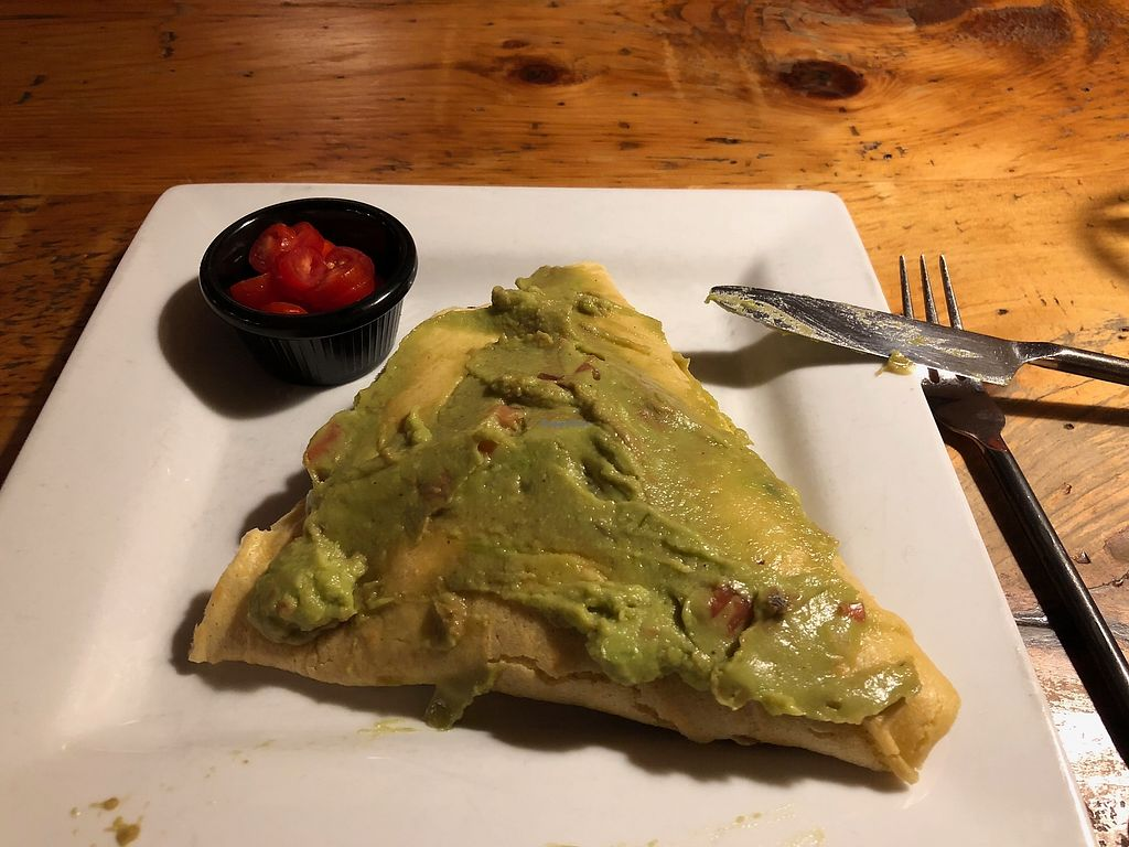 "Photo of The Skinny Pancake  by <a href=""/members/profile/Tamy"">Tamy</a> <br/>U Vegan crepe with Guacamole slathered on it <br/> December 13, 2017  - <a href='/contact/abuse/image/107137/335335'>Report</a>"