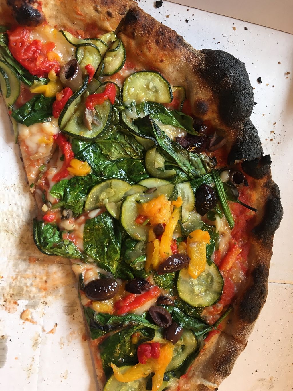"Photo of PickyWops - Peckham  by <a href=""/members/profile/Sooz"">Sooz</a> <br/>Best vegan pizzas ever! <br/> March 31, 2018  - <a href='/contact/abuse/image/107163/378757'>Report</a>"