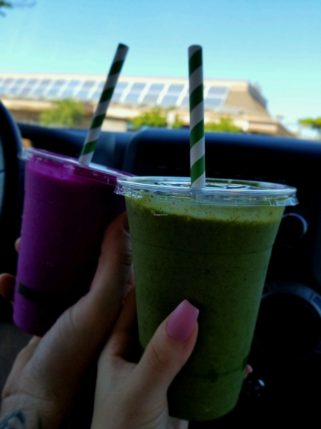"Photo of Herbivores Healthy Fast Food   by <a href=""/members/profile/Vegan.Shay"">Vegan.Shay</a> <br/>dragon fruit and green flash smoothie <br/> January 19, 2018  - <a href='/contact/abuse/image/107171/348240'>Report</a>"