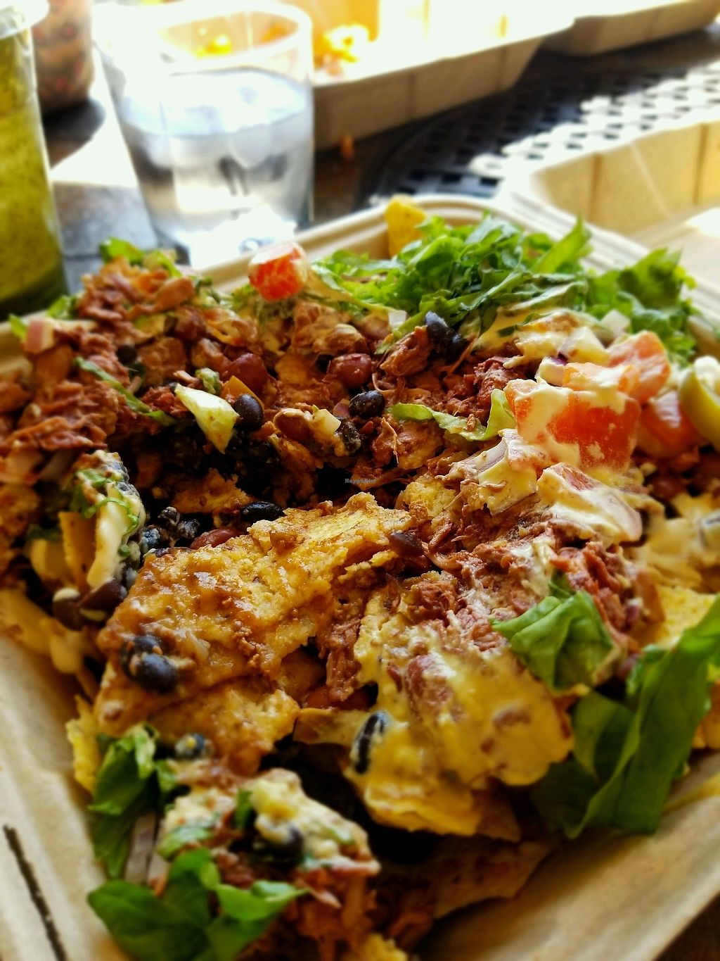 "Photo of Herbivores Healthy Fast Food   by <a href=""/members/profile/Vegan.Shay"">Vegan.Shay</a> <br/>jackfruit nachos <br/> January 19, 2018  - <a href='/contact/abuse/image/107171/348244'>Report</a>"