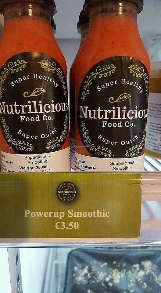 """Photo of Nutrilicious Food Co  by <a href=""""/members/profile/Veronica155"""">Veronica155</a> <br/>smoothies <br/> December 14, 2017  - <a href='/contact/abuse/image/107177/335416'>Report</a>"""