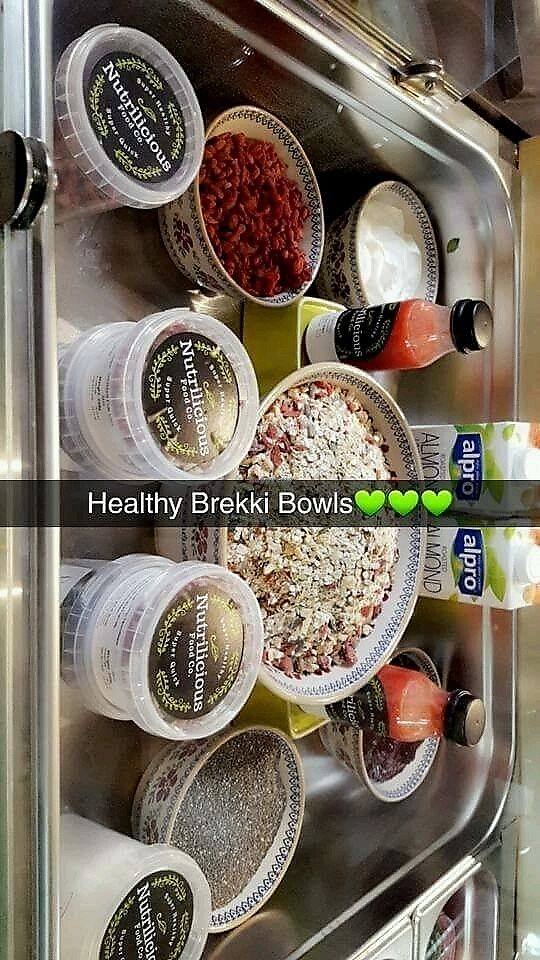 """Photo of Nutrilicious Food Co  by <a href=""""/members/profile/Veronica155"""">Veronica155</a> <br/>Breakfast bowls <br/> December 14, 2017  - <a href='/contact/abuse/image/107177/335420'>Report</a>"""
