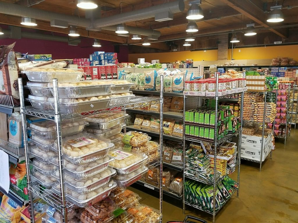 """Photo of Namaste Spiceland  by <a href=""""/members/profile/VegGuyLA"""">VegGuyLA</a> <br/>groceries <br/> January 3, 2018  - <a href='/contact/abuse/image/107206/342656'>Report</a>"""